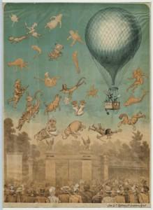 Spotprent uit 1898 als inspiratie